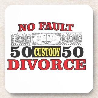 Porta Copos igualdade 50 do divórcio 50 da no-falha