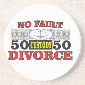 Porta-copos igualdade 50 do divórcio 50 da no-falha