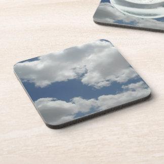 Porta Copos Impressão bonito da foto das nuvens