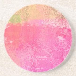Porta-copos Impressão da aguarela do Grunge da arte abstracta