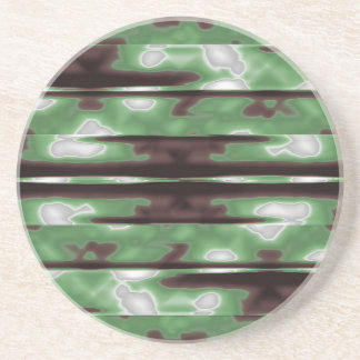 Porta-copos Impressão do teste padrão de Camo das listras