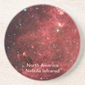 Porta-copos Infravermelho da nebulosa de America do Norte