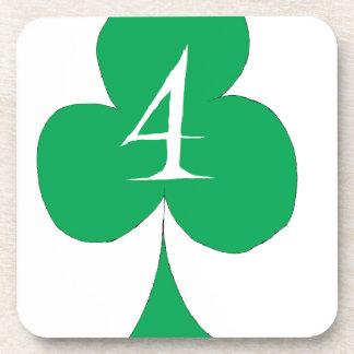 Porta-copos Irlandês afortunado 4 dos clubes, fernandes tony