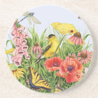 Porta-copos Jardim do Goldfinch