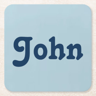 Porta copos John Porta-copo De Papel Quadrado