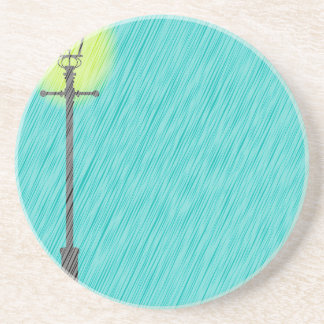 Porta-copos Lamppost na chuva