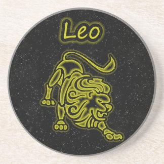 Porta-copos Leo brilhante