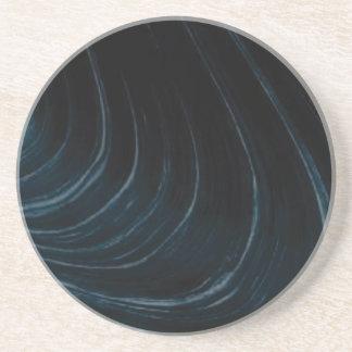 Porta-copos Linha de fluxo ondulada
