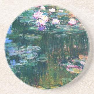 Porta-copos Lírios de água por Claude Monet