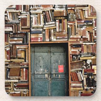 Porta-copos Livros e livros