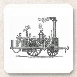 Porta Copos Locomotiva de vapor adiantada