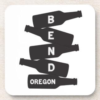 Porta-copos Logotipo da pilha da garrafa de cerveja de Oregon