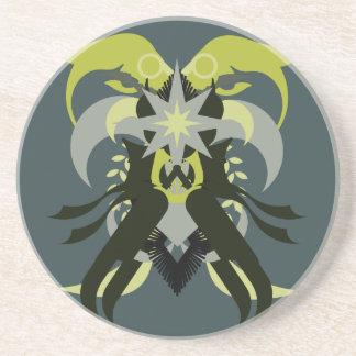 Porta-copos Loki da abstracção sete