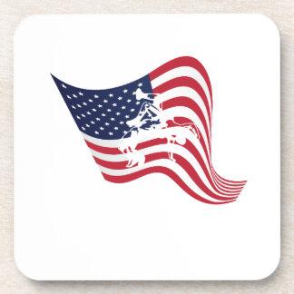 Porta Copos Luta do Wrestle do amor da bandeira americana