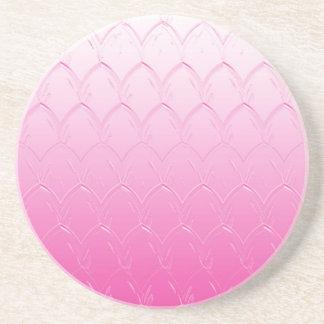 Porta-copos Luz às escalas cor-de-rosa escuras