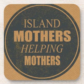 Porta Copos Mães da ilha que ajudam portas copos das mães