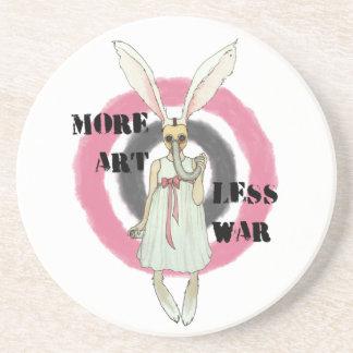 Porta-copos Mais arte menos guerra