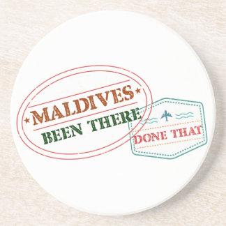 Porta-copos Maldives feito lá isso