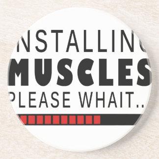 Porta-copos Malhação e músculos do Gym