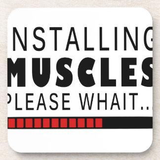 Porta Copos Malhação e músculos do Gym
