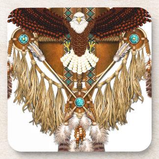 Porta Copos Mandala da águia americana - revisada