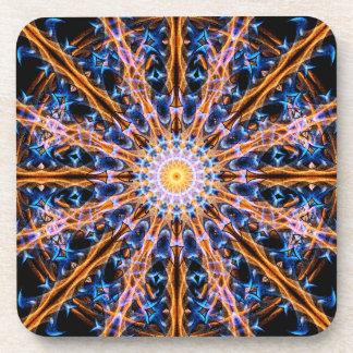 Porta Copos Mandala da estrela da alquimia