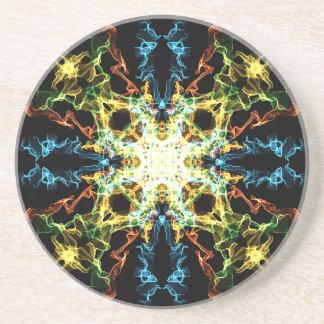 Porta-copos Mandala da iluminação