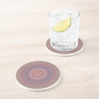 Porta-copos Mandala geométrica do Hippie