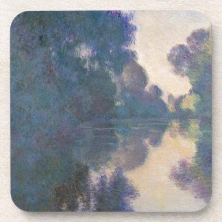 Porta-copos Manhã no Seine perto de Giverny - Claude Monet.j