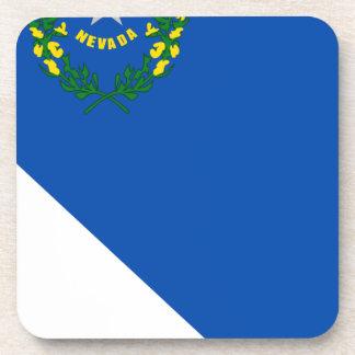 Porta-copos Mapa da bandeira de Nevada