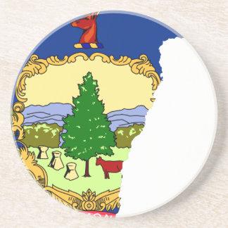 Porta-copos Mapa da bandeira de Vermont