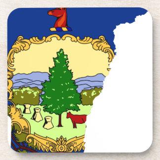 Porta Copos Mapa da bandeira de Vermont