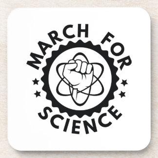 Porta-copos Março para a ciência