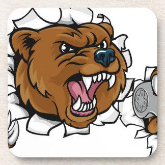 Porta Copos Mascote irritada de Esports do urso