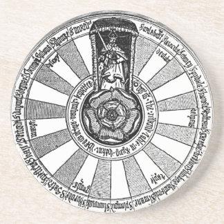 Porta-copos Mesa redonda do rei Arthur