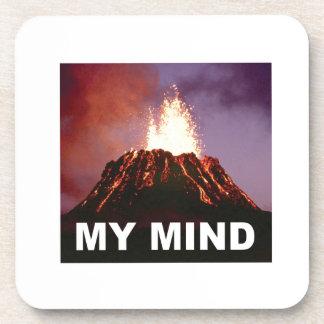 Porta Copos minha mente do vulcão