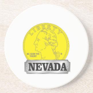 Porta-copos Moeda de ouro de Nevada
