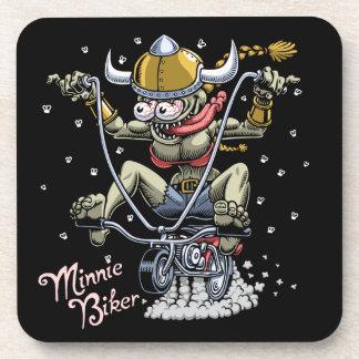 Porta-copos Motociclista de Minnie