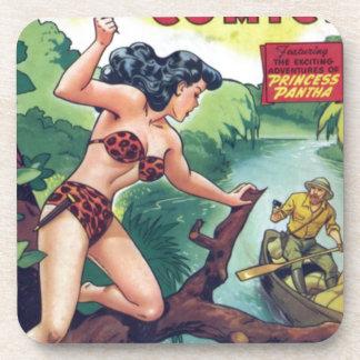 Porta Copos Mulher da selva