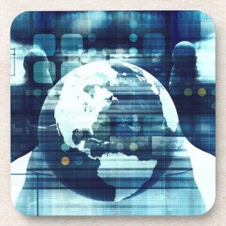 Porta-copos Mundo de Digitas e indústria do estilo de vida da