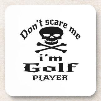 Porta-copos Não faz o susto mim que eu sou jogador de golfe