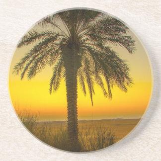 Porta-copos Nascer do sol da palmeira