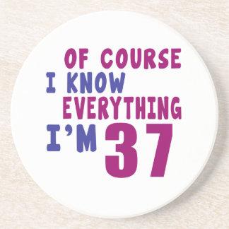 Porta-copos Naturalmente eu sei que tudo eu sou 37