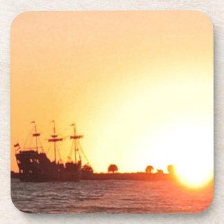 Porta-copos Navio de pirata