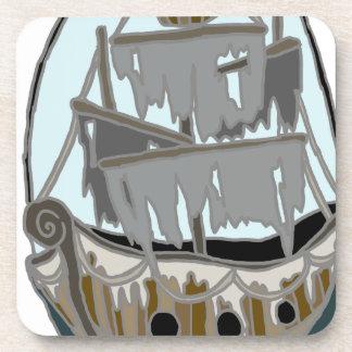 Porta-copos Navio do fantasma