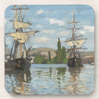 Porta Copos Navios de Claude Monet que montam no Seine em