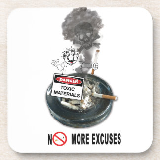 Porta-copos NENHUM fumo da parada das DESCULPAS