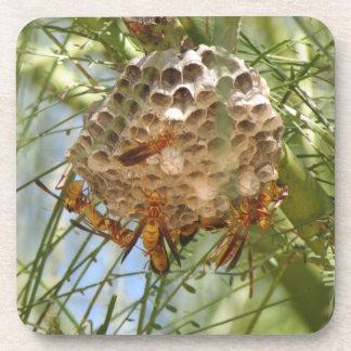 Porta-copos Ninho da vespa