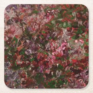 porta copos no rosa pastel porta-copo de papel quadrado