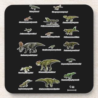 Porta Copos Nomes dos dinossauros